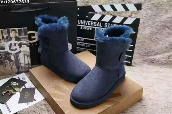 UGG Bailey Button II - Blue