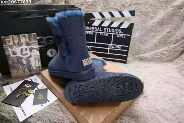 UGG Bailey Button II - Blue (1)