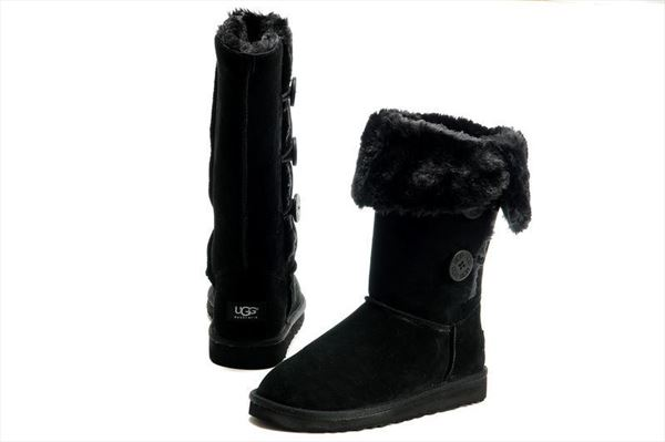 UGG Bailey Button Triplet - Black (2)