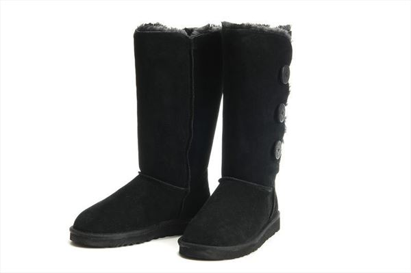 UGG Bailey Button Triplet - Black (3)