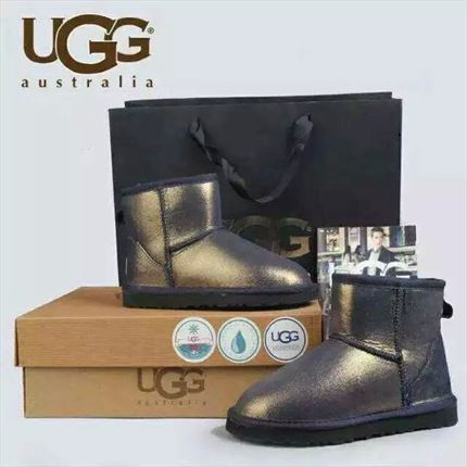UGG Classic Mini - Gold Mirror (Edición limitada)