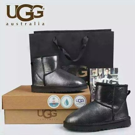 UGG Classic Mini - Black Mirror